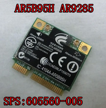 Network Card for Atheros AR5B95H AR9285 Half Mini PCI-E Card for HP Pavilion DV6 DV7 CQ56 CQ62 G62 CQ42 CQ43 SPS 605560-005