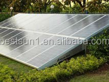 high quality CE/TUV proved price down BNS-10KW solar home lighting kit