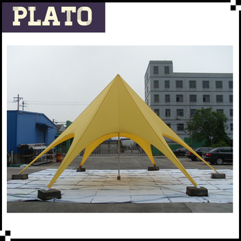 Yellow Outdoor Star Canopy Tent,Marquee Tent For Outdoor Events ...