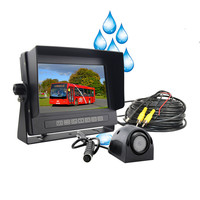CE ROHS certification 2 year warranty, Europe pop star Rear view car monitor for waterproof