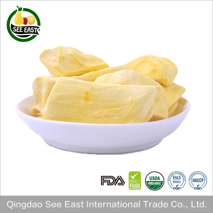 HACCP certified snack food FD fruits freeze dried jackfruit jackfruits chips