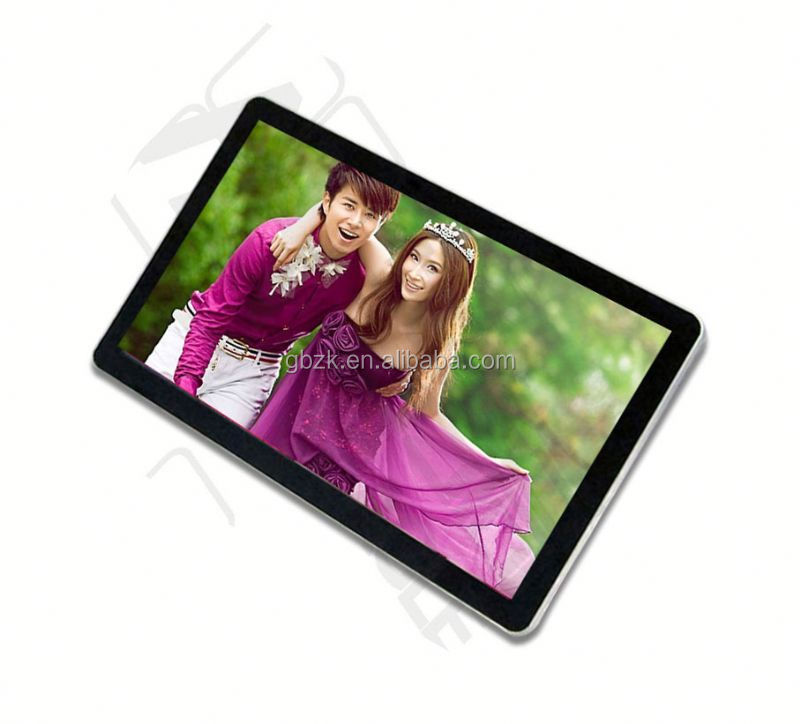 "19"" Metal Casing Wall Mount LCD Multimedia Ad Player"