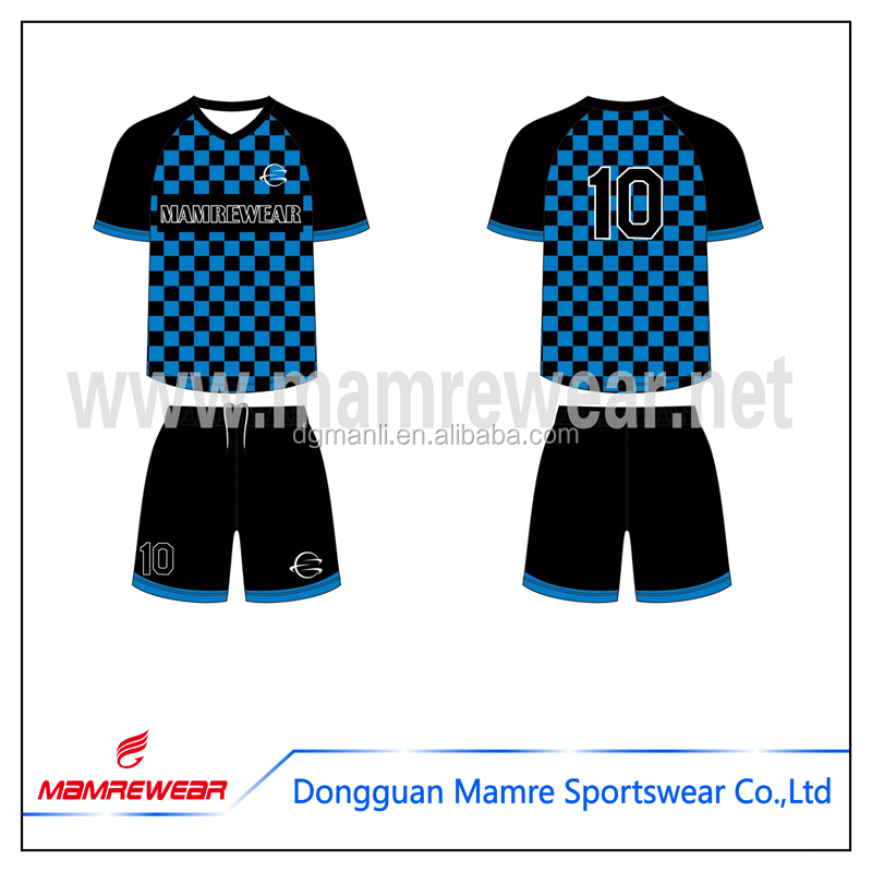 2017 soccer sportswear dry fit custom made training soccer jersey shirts sets uniform for teams no MOQ