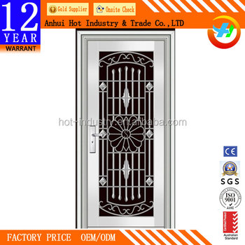 Steel Door Designs china security stainless steel door designs china ornamental iron door stainless steel door Modern Latest Design Stainless Steel Doorfront Door Designs Safety Door Design With Grill