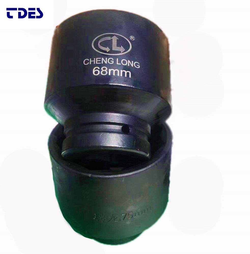 Hand Tools 3/4 Deep Impact Socket 78mm Length Cr-mo Steel Air Sockets Wrench Head Nut Socket Pneumatic Wrench Head