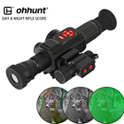 ohhunt Digital Night Vision Video Recorder GPS WiFi Compass HDMI with IR Illuminator Day Night Hunting Night Vision Riflescope