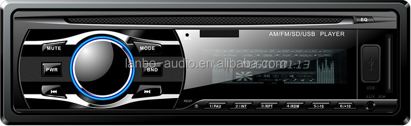 Radio tuner player,Music FM Transmitter, Car mp3/MP4/CD player usb radio mp3 car stereo