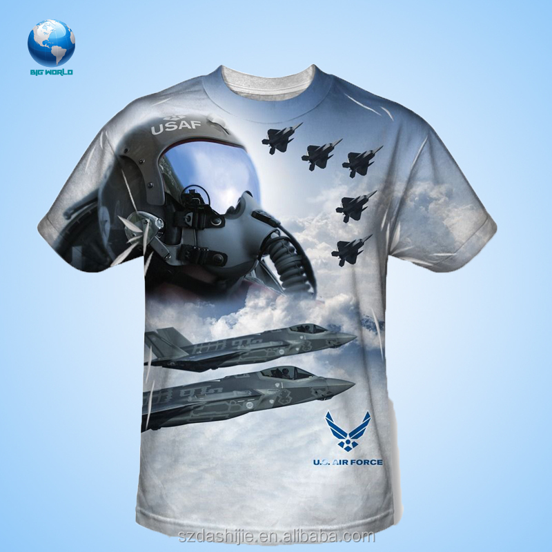 3d Sublimation T-shirt/casual Plain T-shirt Wholesale/sublimation ...