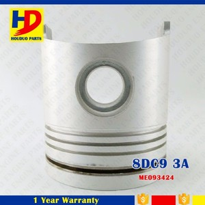 8DC9 Piston ME093424 8DC9T 8DC93 Excavator Engine Piston Assembly