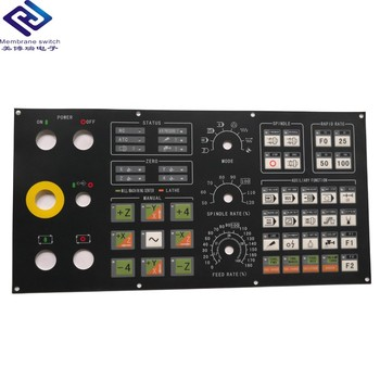 Hot Sale Custom Polycarbonate Graphic Control Panel Overlay