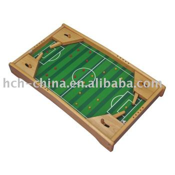 Wooden game dimension 69x37x26cm soccer pinball buy for Pinball de mesa