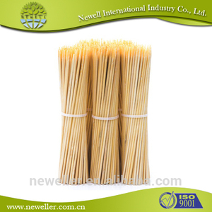2014 Natural nature bbq bamboo sticks for sale bambu sticks skewer