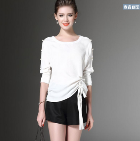 Formal tops and blouses with collar women top white semi formal tops and blouses  ladies sample a6473f2da6