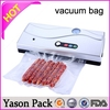 Yason colorful food pouch roll stock black mylar vacuum bag