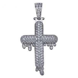 Iced Out Cross Pendant 80317efe81a2
