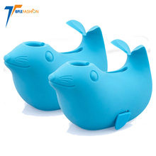 BPA free soft silicone bathtub spout cover for infant baby and toddler