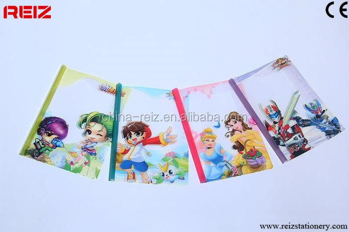 China a3 plastic book cover