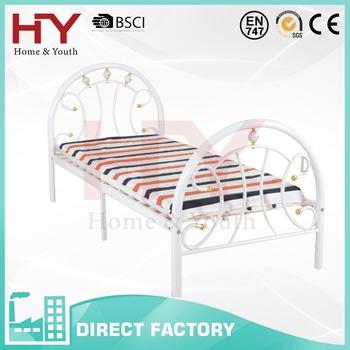 Modern Cheap Price Single Metal Bed Frame Buy Single Metal Bed