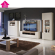 led New Model TV Stand Wooden Furniture TV Showcase