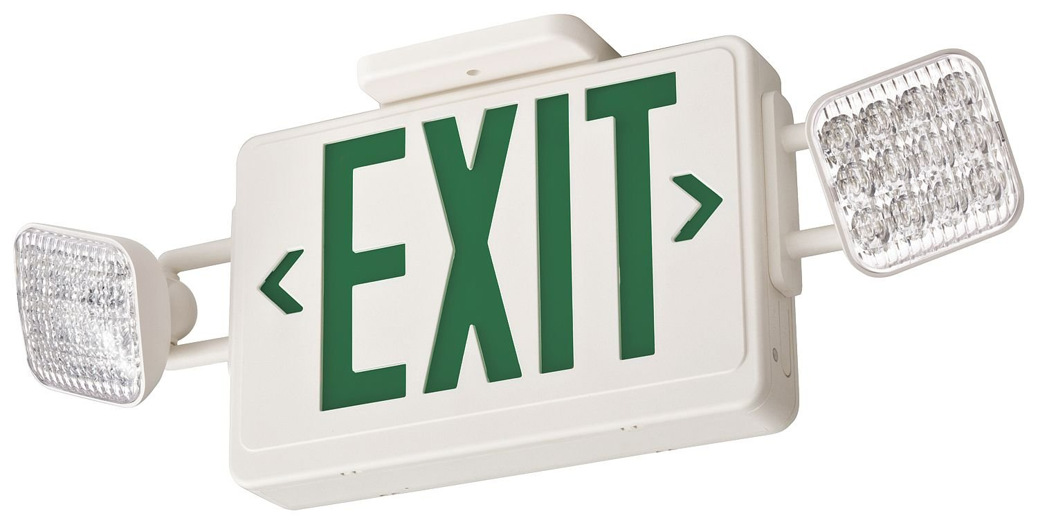 ACUITY LITHONIA Thermoplastic LED Exit Sign/Emergency Lights