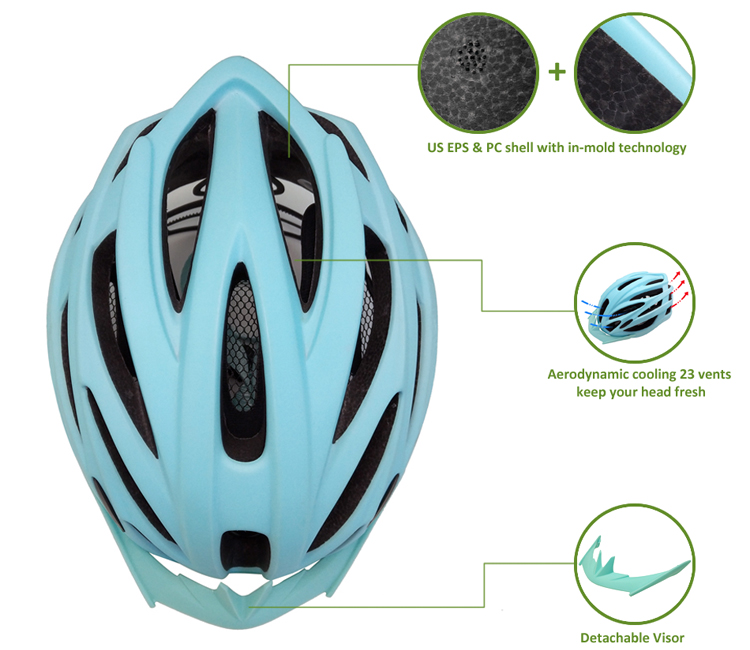 Amazon Best Selling Lightweighted Bicycle Helmet 7