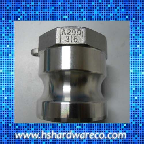 Stainless steel 3 Way Connect Air Hose Coupling