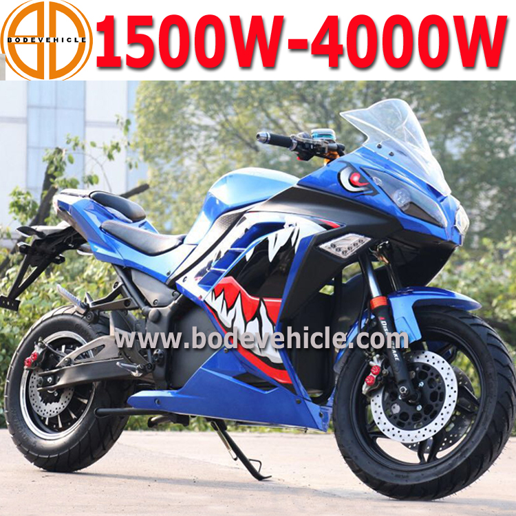 China New Electrical Racing Motorcycle for Sale Price 1000W 1500W 3000W
