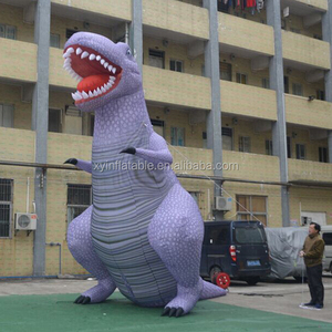 Xingyuan factory made 5m giant inflatable t rex for sale