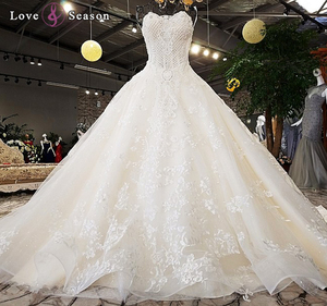 LS74521 sleeveless big ball pakistani party dresses pictures wedding dress bridal gowns dresses