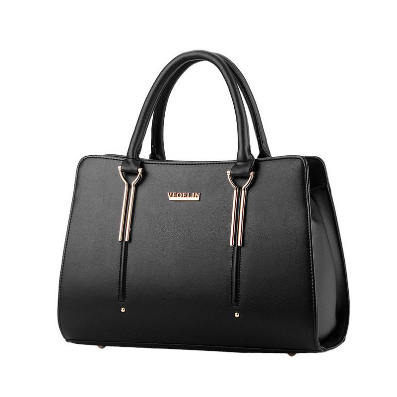 Candy color Women PU Leather Handbags Vintage Women Tote Messenger Bags Fashion Women Shoulder bags Ladies Bag 2015 New BH795