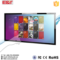32,42,46,48,55,60,65 50 Inch 10 Touch Points Multi Touch Screen Overlay it / lcd tv IR Touch Screen Kit/ IR Frame