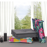 Multi Use High Quality Box Cushion Floor Pad Square Floor meditation cushion