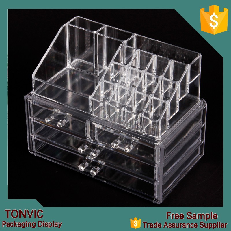 Wholesale Acrylic Makeup Organizer With Drawers  Wholesale Acrylic Makeup  Organizer With Drawers Suppliers and Manufacturers at Alibaba com. Wholesale Acrylic Makeup Organizer With Drawers  Wholesale Acrylic