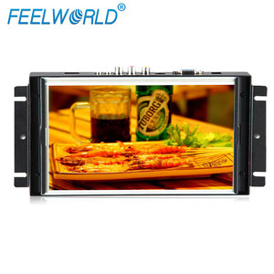 Feelworld 10 inch lcd touch screen with USB 4 wire resistive panel HDMI AV input P102-9AHDT