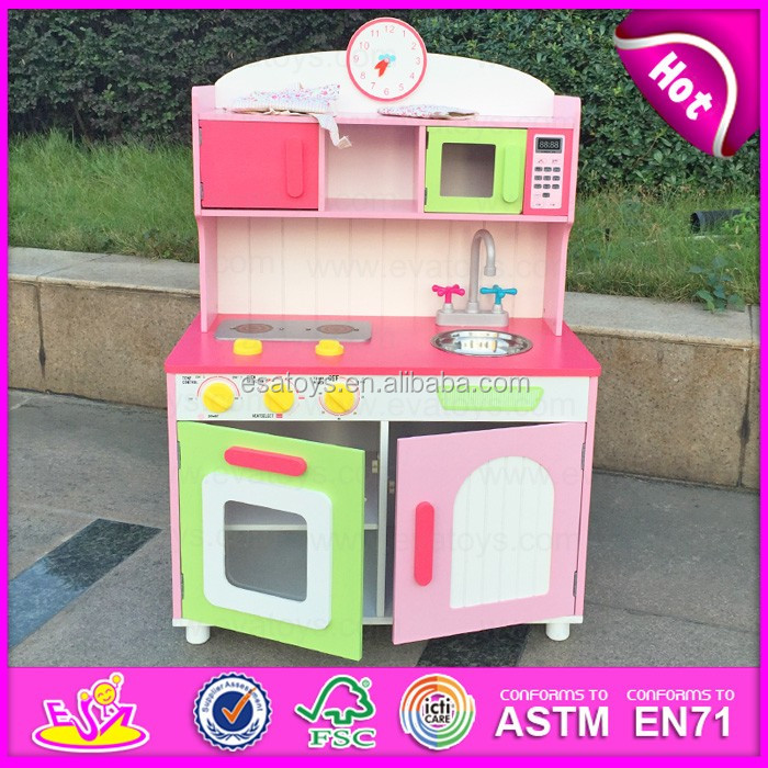 high quality wooden small kitchen design ,children toys for sale kids wooden toy WJ27906