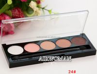 Cheap price eyeshadow high quality romantic 5 color eyeshadow for beauty makeup for your logo