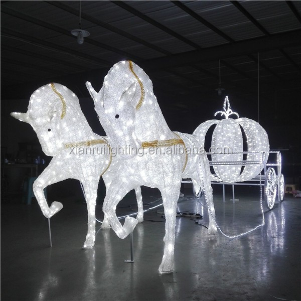 Commercial outdoor/indoor led used horse carriages for sale