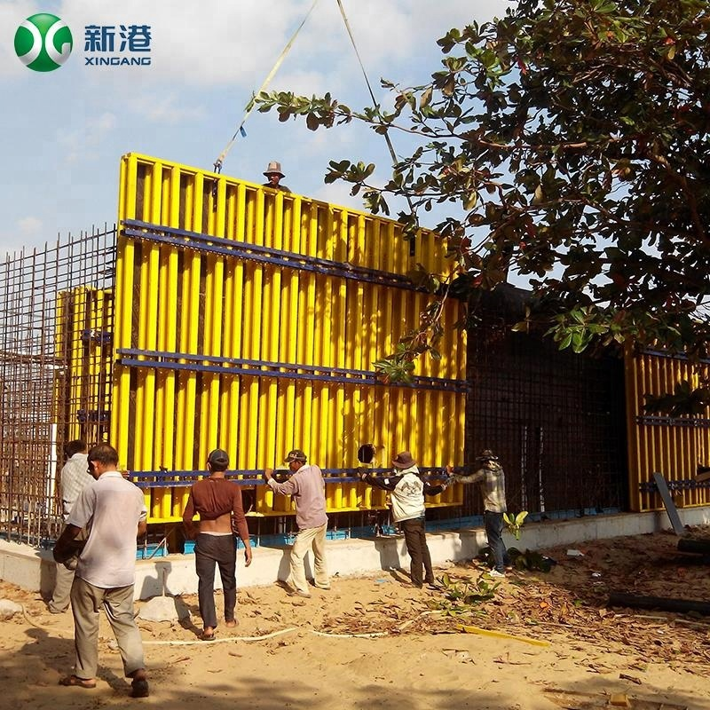 Factory price Concrete formwork System/Reusable building templates//New type concrete formwork