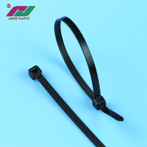 5b63f16f7231 OEM UV black self-locking hose ties nylon cable tie electric for wires  bundling