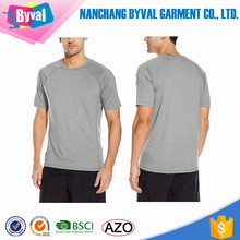 Nylon Polyester T Shirt Mens Quick Dry Sports t-shirt Printing Custom Seamless Running T Shirts