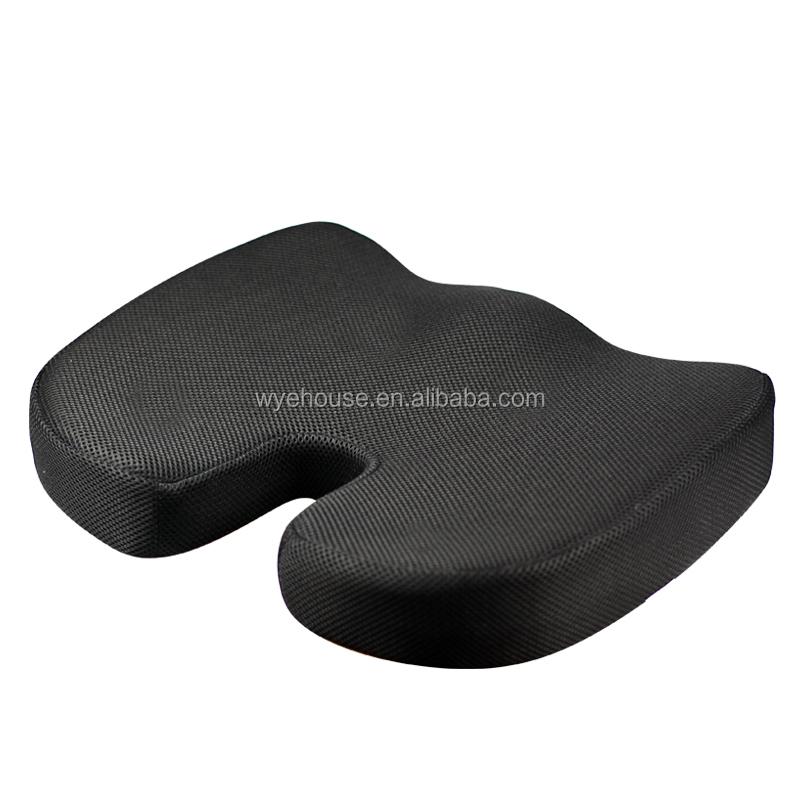 Премиум сиденье Подушки Нескользящие ортопедические 100% пены памяти Coccyx для Tailbone боли для офиса стул