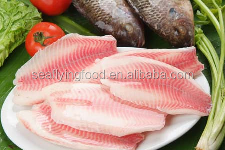 Fresh Frozen Tilapia Fillet From Seafood Supplier