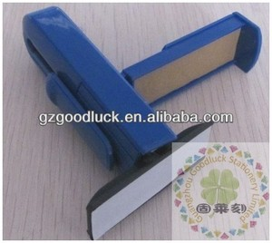 Self-inker personalized logo pocket stamp machine/self-inking rubber pocket stamper