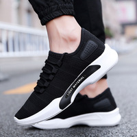 2019 new arrive breathable sports sneakers China suppliers footwear fashion casual shoe men's running shoe