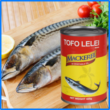 canned seafood mackerel