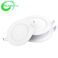 The best quality led panel 9Wip 44 round panel light indoor 12w round warm white 4000k light panel