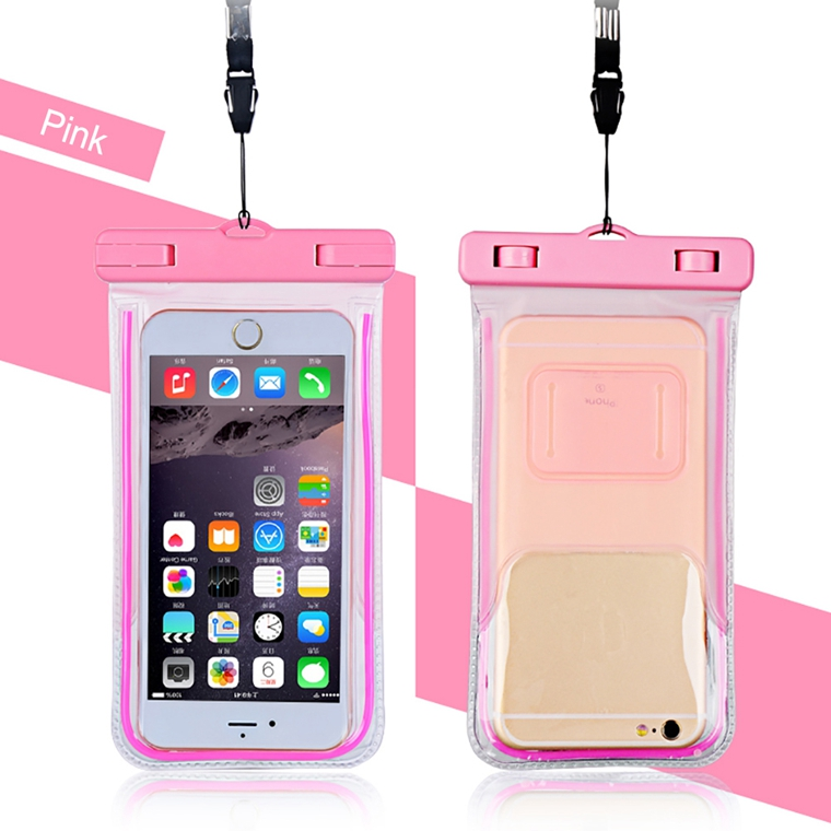 Durable PVC Waterproof Cell Phone Case for Sony Xperia Phone, Waterproof Pouch Dry Bag