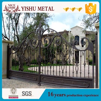 New Simple Iron Gate Grill Designs And Iron Main Gate Designs For Homes