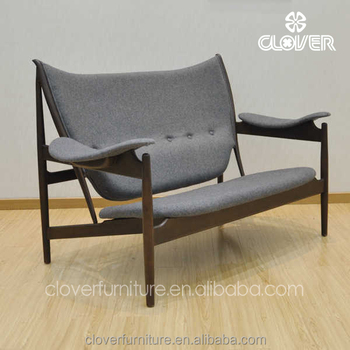 Swell Clover Furniture Replica Modern Wooden Lounge Chairs Love Seater Sofas Buy Two Seater Wooden Sofa Single Seater Sofa Chairs Sofa And Cuddle Chair Inzonedesignstudio Interior Chair Design Inzonedesignstudiocom