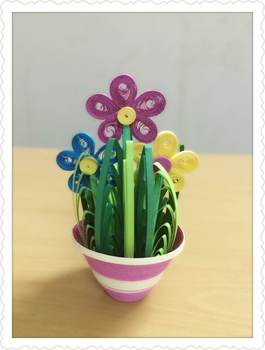 Quilling flowers paper buy paper quilling flower patternsflower quilling flowers paper mightylinksfo